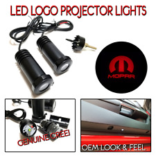 2Pc Lumenz 100647 RED LED Logo Projectors Ghost Shadow Lights for MOPAR