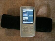 Silikonhülle mit Sportarmband **NEU**  für Sony NWZ-A815  NWZ-A816 NWZ-A818