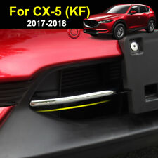 For Mazda CX-5 CX5 2017 2018 Chrome Front Lower Grille Grill Cover Trim Molding