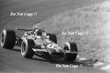 Jacky Ickx Brabham BT26A Dutch GRAND PRIX 1969 PHOTO 1