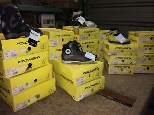 NOS Fischer SNS Cross Country Ski Boots 26  pairs