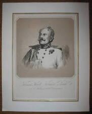c1850 Zobel von Giebelstadt und Darstadt Freiherr Getönte Lithographie Bausch