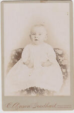 ANTIQUE BABY BY GOODHART, SHIPPENSBURG, PA  CABINET PHOTO