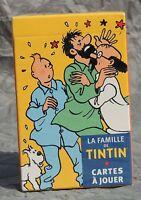 Hergé. la famille de tintin. Cartes à jouer. Moulinsart 2010. ETAT NEUF
