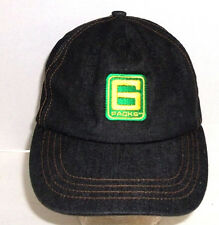 6Packs Amp Mountain Dew Black Denim Mesh Cap Hat Snapback Adjustable 6 Packs
