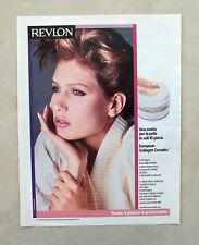 D608 - Advertising Pubblicità - 1986 - REVLON COLLAGEN COMPLEX