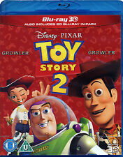 TOY STORY 2 - BLU-RAY 3D - WALT DISNEY PIXAR FILM ANIMATED CHILDREN FAMILY MOVIE