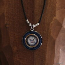 United States Navy Necklace Mens Jewelry Military Honor Proudly Wear Patriotic