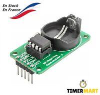 Module RTC DS1302 Horloge série en temps réel compatible avec Arduino, Raspberry