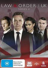 Law & Order UK : Season  4 (DVD, 2016, 2-Disc Set) NEW