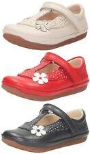 Scarpe in pelle rossa per bambine dai 2 ai 16 anni