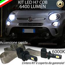 KIT FULL LED FIAT 500L LAMPADE ABBAGLIANTI LED H7 6000K BIANCO GHIACCIO NO ERROR