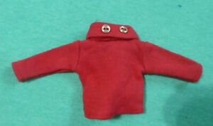 Vintage Barbie Doll Clothes  -  MOD Era Barbie CLONE Red Long Sleeve T-Shirt