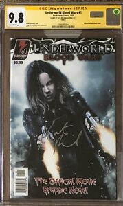 Underworld Blood Wars #1__CGC 9.8 SS__Signed by Kate Beckinsale