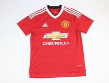 Adidas Youth Boys Large Climacool Manchester United Red Jersey Memphis Depay #7