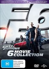 Fast & Furious (DVD, 2013, 6-Disc Set)