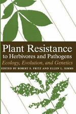 PLANT RESISTANCE TO HERBIVORES AND PATHOGENS - NEW PAPERBACK BOOK