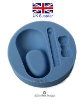 Child Baby Shoe Bow Silicone Cake Mould Fondant Mold Sugarcraft Christening