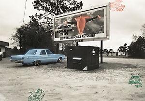 Robert FICHTER: Air Power, Florida, 1979 / Silver print / Printed 1982 / SIGNED!