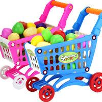 Ee _ Lk _ Ne _ Ba _ Niños Infantil Compras Carrito Carreta Papel Set Juguetes de