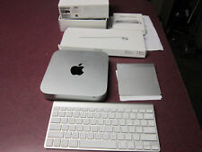 Apple Mac mini A1347 Desktop 500gb 4gb RAM Keyboard Mouse Pad late 2012