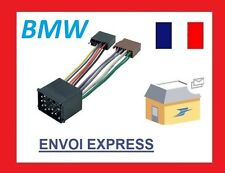 Câble Adaptateur pour prise Autoradio DIN ISO BMW 3, 5 Z3 E34 E36 E46 E39