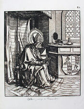 HANS BURGKMAIR, Images de Saints et Saintes, Plate 80, woodcut printed 1776