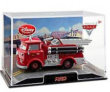 Disney Store Cars 2 Red Die Cast Car In Collector's Case