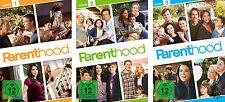 15 DVDs * PARENTHOOD - SEASON / STAFFEL 1 - 3 IM SET # NEU OVP +