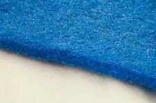 """Aquarium Pond Filter Pad, 12"""" x 35"""" x 3/4"""" cut to fit, Blue"""