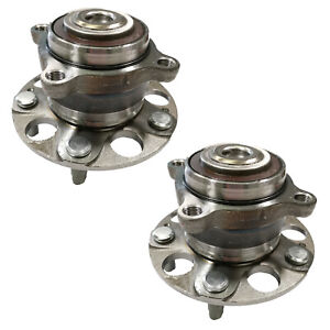 2pc Front Wheel Bearing Hub Assembly For 2011-2017 Odyssey