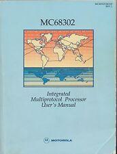 Motorola Mc68302 Intergrated Multiprotocol Processor User Manual