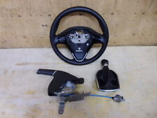 FIESTA BLACK EDITION LEATHER STEERING WHEEL + HANDBRAKE + GEAR GAITOR 2013- 2017