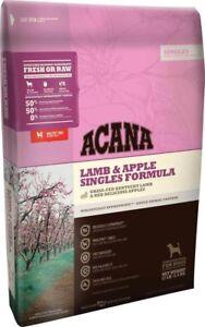 ACANA Singles Lamb & Apple Dry Dog Food (4.5 lb)
