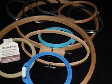 Embroidery Hoops LOT Of 11 Set 4