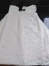MONSOON IVORY 'LUCETTE' LACE OCCASION DRESS. AGE 18 - 24 MONTHS. NEW WITH TAG.