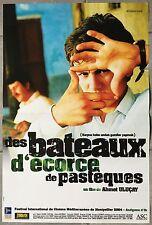 Affiche DES BATEAUX D'ECORCE DE PASTEQUES Ahmet Ulucay 40x60cm *