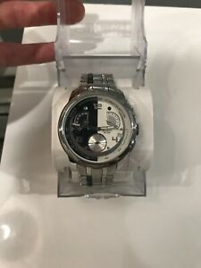 SWATCH JAMES BOND 007 VILLAIN HUGO DRAX WATCH MOONRAKER YRS410G