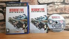 Resident Evil Outbreak playstation 2 Ps2 game