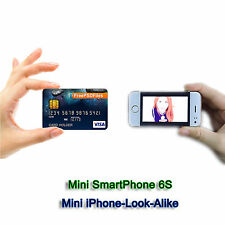 World's Smallest SmartPhone Credit Card Size Micro SIM unlocked GSM mini Android