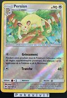 Carte Pokemon PERSIAN 102/147 Rare REVERSE Soleil et Lune 3 SL3 FR NEUF