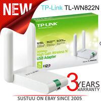TP-Link TL-WN822N│300Mbps High Gain Wireless N USB Adapter│11N Speed│White