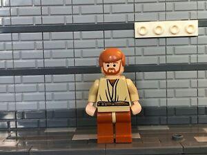 LEGO Star Wars Episode 3 Obi-Wan Kenobi Minifigure (7255) sw0135