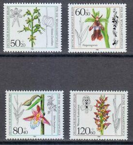 Berlin 1984 MNH Mi 724-727 Sc  9NB216-9NB219 Orchid. Orchids.Flowers **