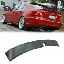 Unpainted For Mercedes BENZ W203 4DR Sedan Lorinser Roof Spoiler C240 ABS