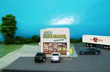 Substandard Sandwich Shop Restaurant N Scale Building DIY Paper Cutout Kit