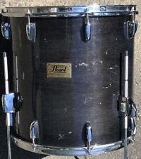 "Pearl 16"" Prestige Session Select Floor Tom Drum Transparent Black"