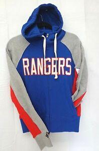 New York Rangers Women's M Hands High Full Zip Hoodie Jacket