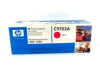 HP Color LaserJet C9700A Genuine Black & C9703A Magenta