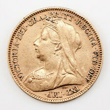 More details for victoria gold half-sovereign, old head, george & the dragon reverse type, 1900